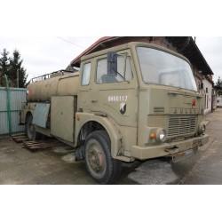 Fuel tanker on Jelcz car
