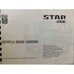 STAR 266 - INSTRUKCJA OBSŁUGI