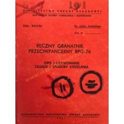 RPG-76 - OPIS I UŻYTKOWANIE