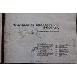 SKOT-2A - KOMPLET TABLIC...