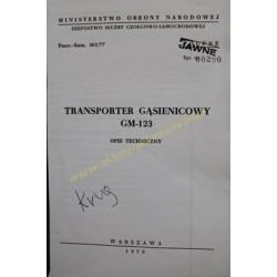 GM-123 - OPIS TECHNICZNY