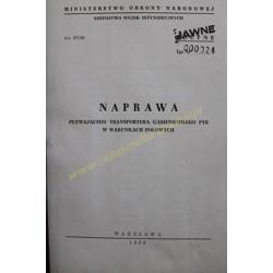PTS - NAPRAWA W WARUNKACH...