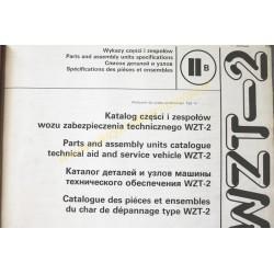 WZT-2 - KATALOG ZESPOŁÓW I...