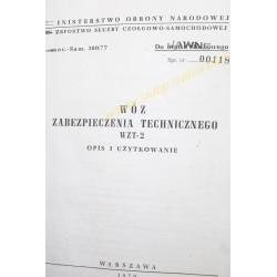 WZT-2 OPIS I UŻYTKOWANIE