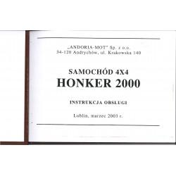 HONKER 2000 - INSTRUKCJA...