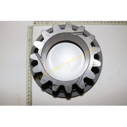 V gear drive toothed wheel