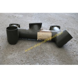 Suction pipe rear