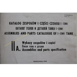 T-72M1 - ASSEMBLIES AND...