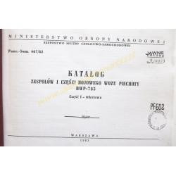 BMP-765 catalog of parts...