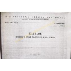 UTD-20 engine - catalog of...